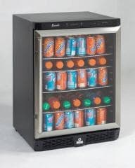 avanti bca5105sg 24 inch beverage center with adjustable