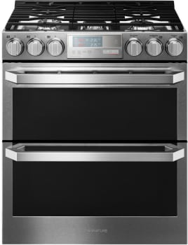 LG Signature Gas Double Oven Slide-In Range #LUTG4519SN