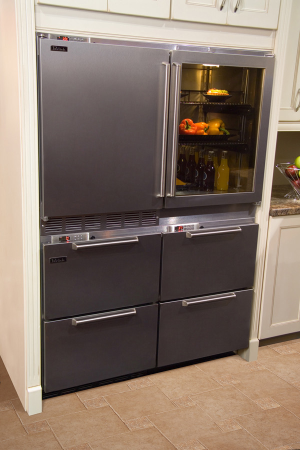 Wine Refrigerator Reviews >> Perlick H2RDFWDS 48 Inch Freestanding Refrigerator Drawers/Wine Cooler with 48 Bottle Capacity ...