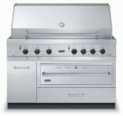 Viking Vqwo5311ss 54 Inch Grill Base Cabinet With Warming