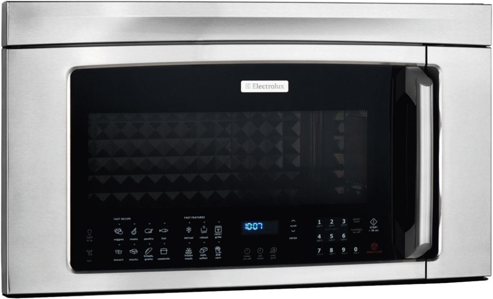 Electrolux Ei30bm60ms 1 8 Cu Ft Over The Range Microwave