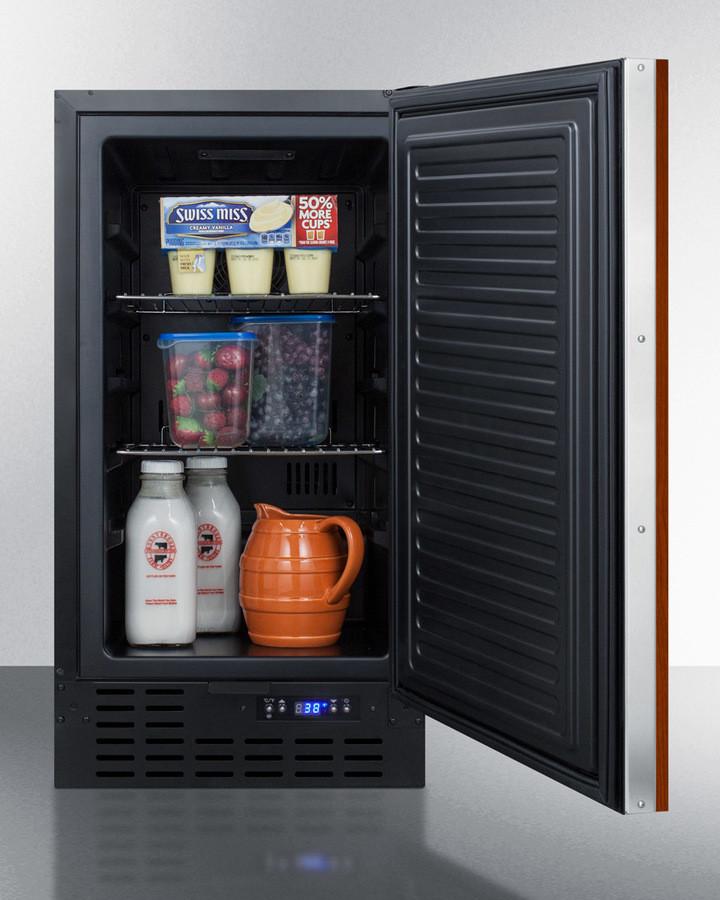Summit Ff1843bif 18 Inch Undercounter Refrigerator With 2