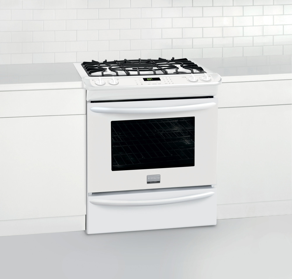 Frigidaire Fggs3065pw 30 Inch Slide In Gas Range With 4