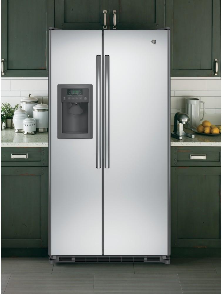 Ge Gse25eshss 36 Inch Side By Side Refrigerator With 24 7