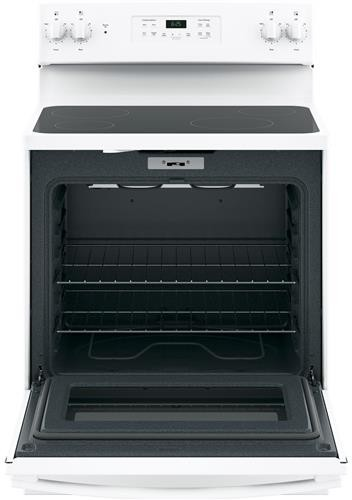 Ge Jb625dkww 30 Inch Electric Range With 4 Smoothtop