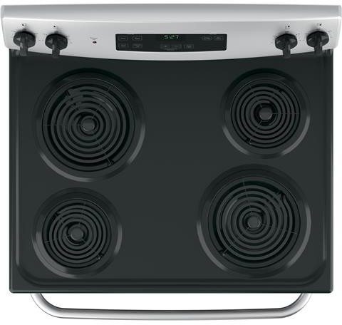 Ge Jbs27rkss 30 Inch Electric Range With 4 Coil Elements