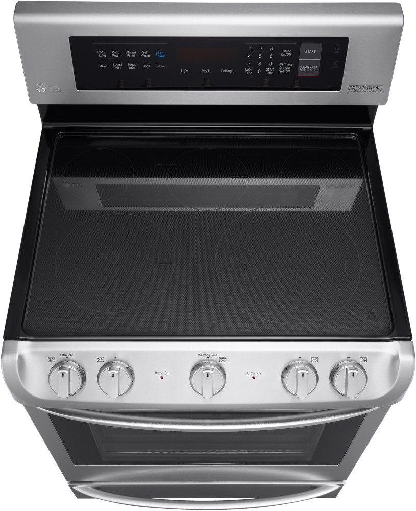 Lg Lre4215st 30 Inch Electric Range With 5 Radiant Cooking