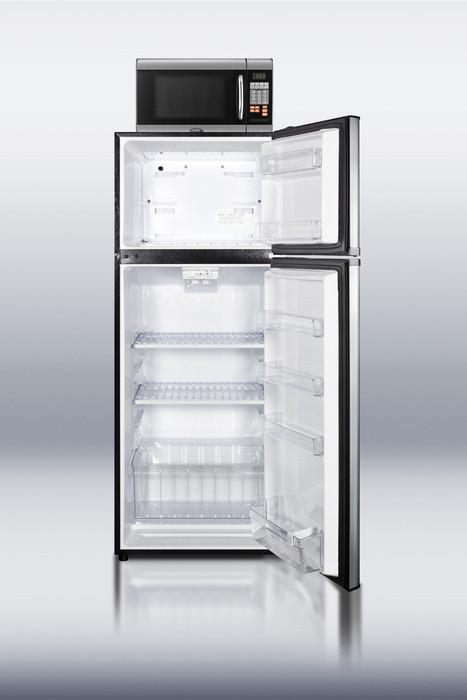 Summit Mrf1159ss 24 Inch Top Freezer Refrigerator With 10