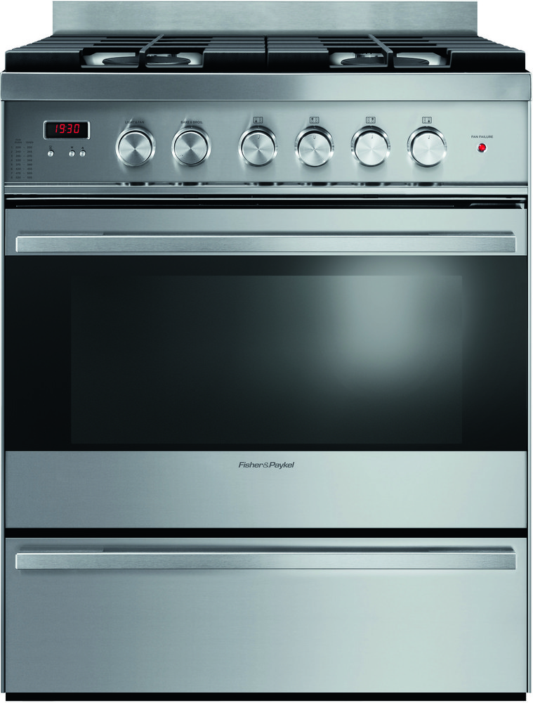 36 Electric Range >> Fisher & Paykel OR36SDBMX1 36 Inch Freestanding Gas Range with 5 Sealed Burners, 3.6 cu. ft ...