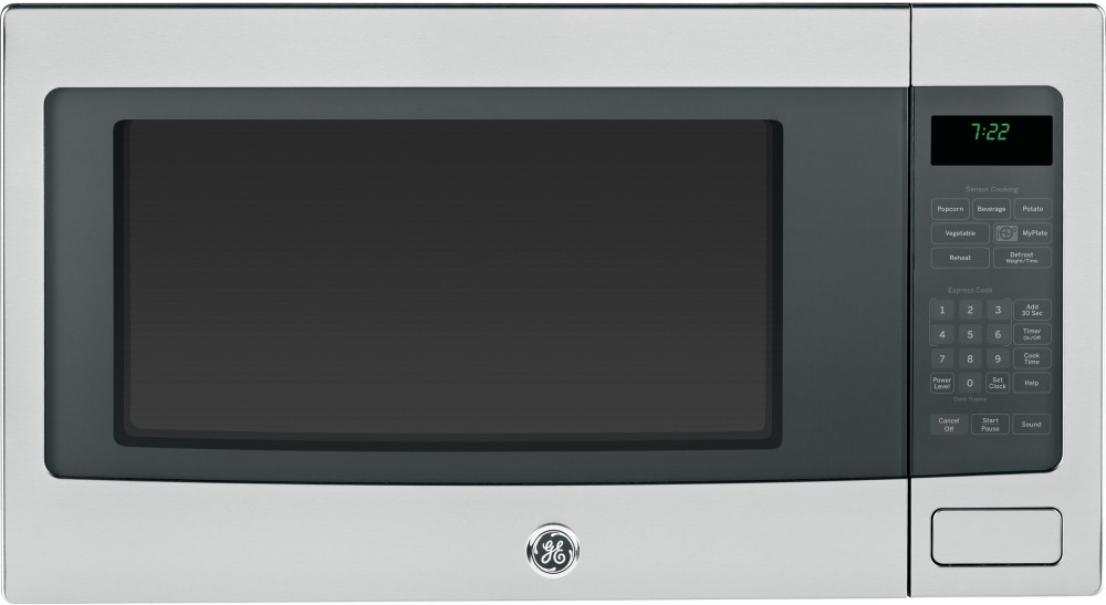 Countertop Microwave Oven With Trim Kit : GE PEB7226SFSS 2.2 cu. ft. Countertop Microwave Oven with 1100 Watts ...