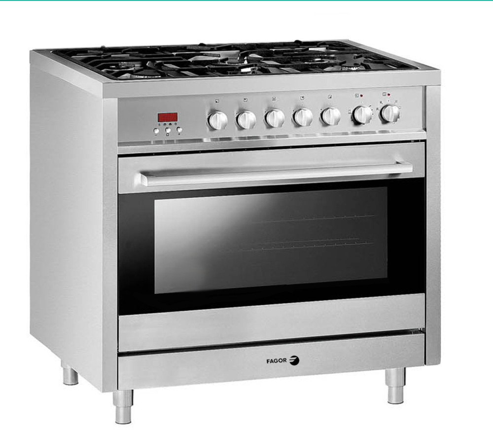 Fagor RFA365DF 36 Inch Freestanding Dual Fuel Range with 5 Sealed Burners, 3   -> Plyta Gazowa Mastercook Safety Control