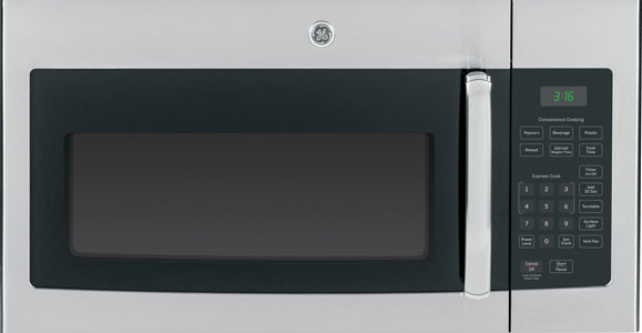 Ge Jvm3160rfss 1 6 Cu Ft Over The Range Microwave Oven