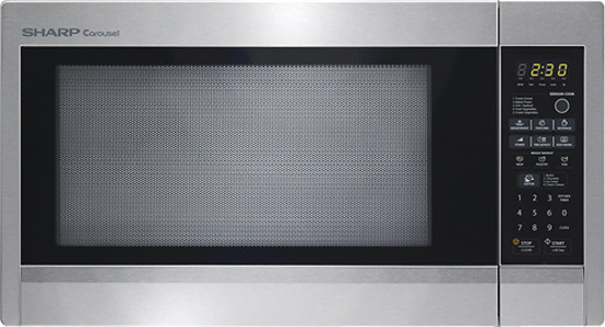 Sharp R651zs 2 2 Cu Ft Countertop Microwave Oven With