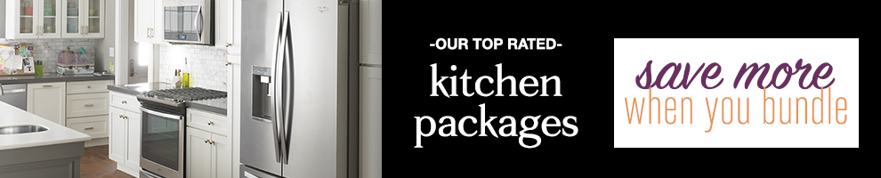 kitchen appliance packages help ease the buying process because you simply select the package that best meets your needs instead of selecting a piece at a - Best Rated Kitchen Appliance Packages