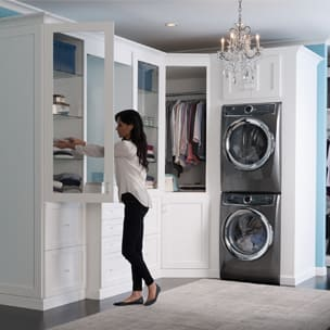 dryer stack laundry diamond