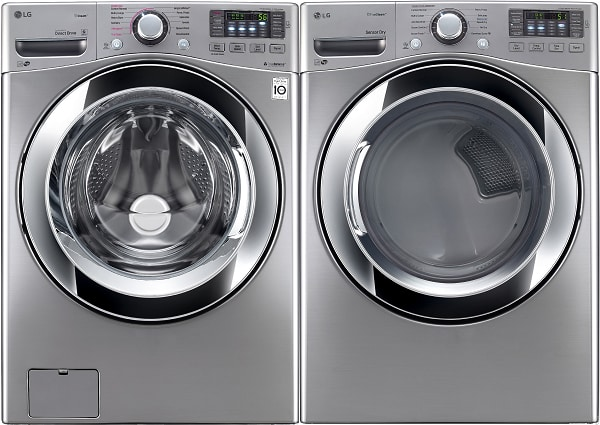 LG 3670 Series Front Load Washer and Dryer Set