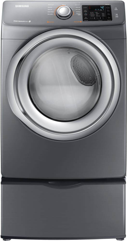 Samsung Dv42h5200ep 27 Inch Electric Dryer With Steam