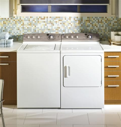 GE PTWN6250MWT 27 Inch TopLoad Washer with 36 cu ft Capacity HE