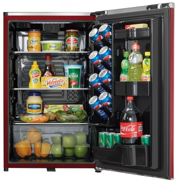 Danby DAR044A6LDB 21 Inch ENERGY STAR Compact Retro Refrigerator