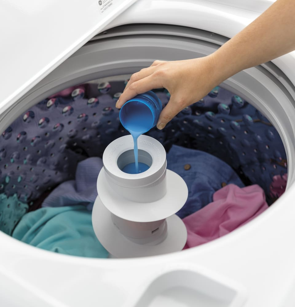 Ge Gtw460asjww 27 Inch 4 2 Cu Ft Top Load Washer With 14