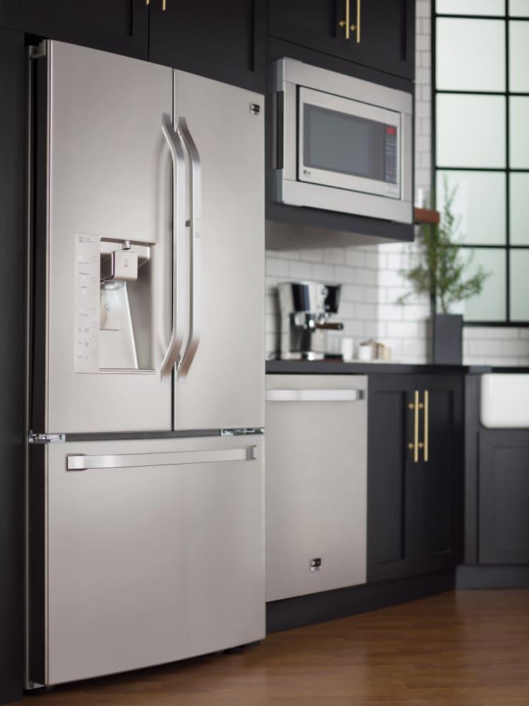 LG LSFD2491ST 36 Inch Counter Depth French Door