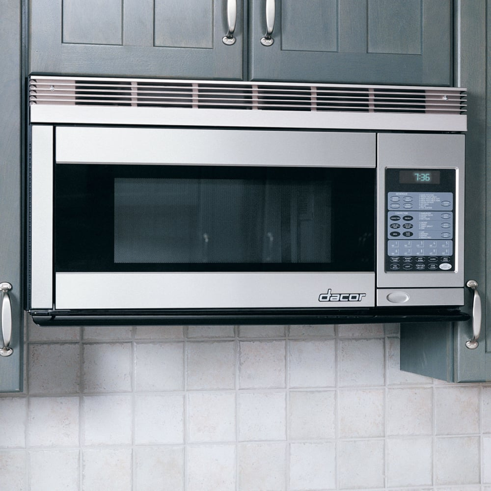 Dacor Pcor30s 1 1 Cu Ft Over The Range Convection Microwave With 850 Watts 300cfm Venting