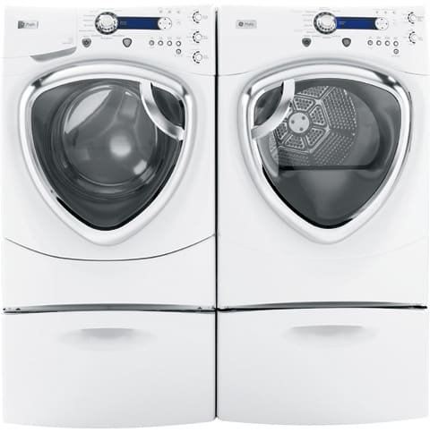 GE DPVH880EJWW 27 Inch Electric Dryer with 75 cu ft Capacity