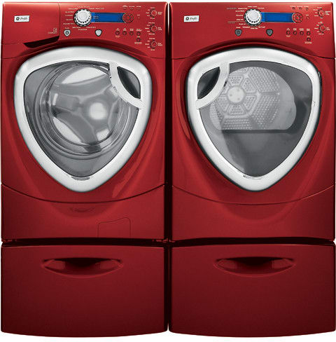 GE WPDH8800JMV 27 Inch FrontLoad Washer with 42 cu ft Capacity