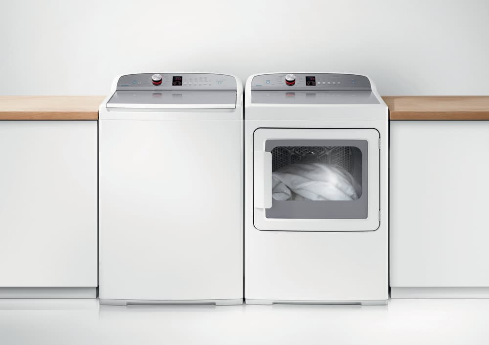 Fisher Paykel DE7027P2 27 Inch 70 cu ft Electric Dryer with 12