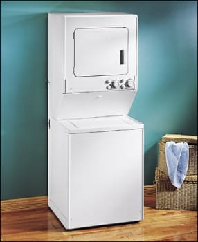 Maytag LSE7806ACE 28 Inch Electric Laundry Center with 25 Cu Ft