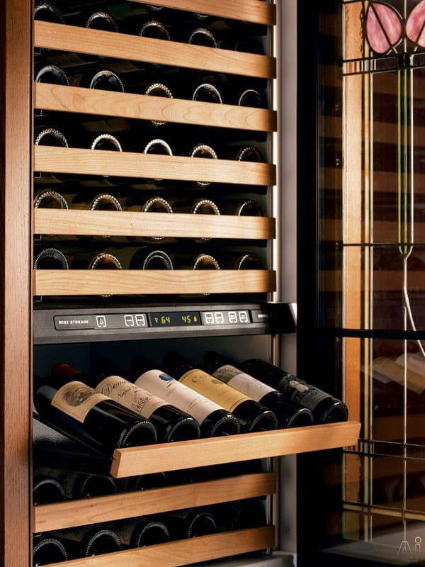 Sub Zero 427grh 27 Inch Built In Dual Zone Wine Storage