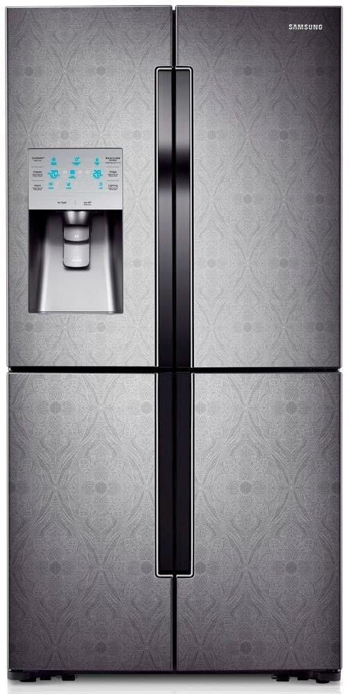 Samsung Rf32fmqdbxw 32 Cu Ft French Door Refrigerator