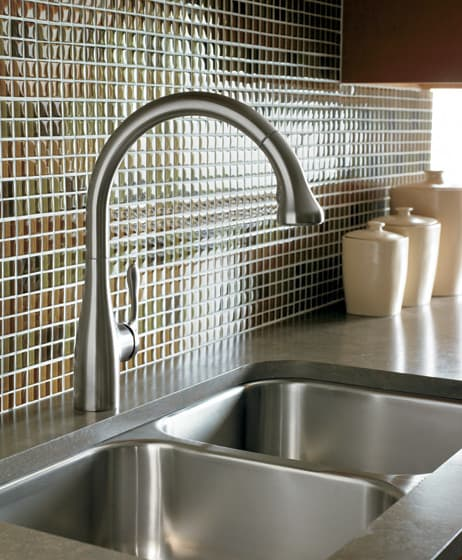 Hansgrohe 06460000 Single Lever Handle Gourmet Kitchen Pull-Down ...