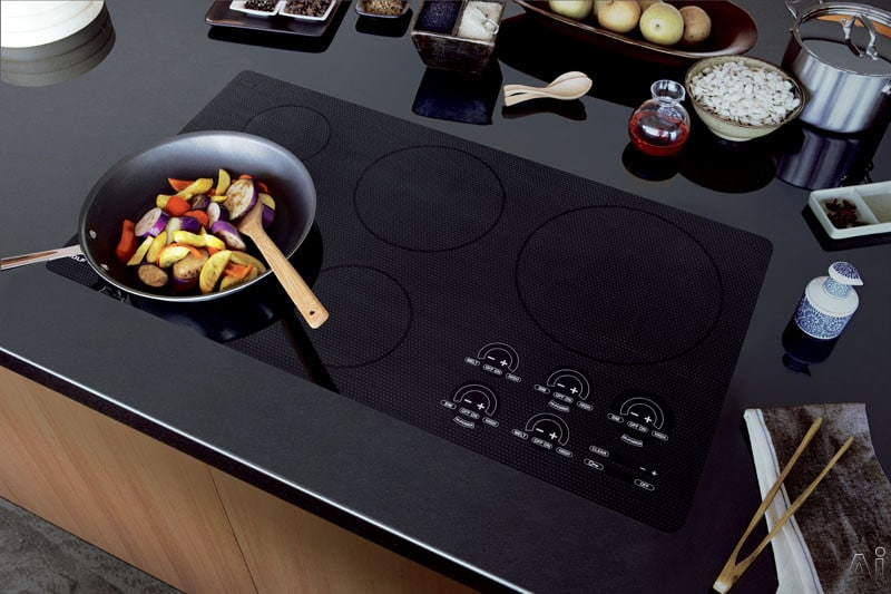 Wolf CT36IU 36 Inch Induction Cooktop with 5 Induction ...