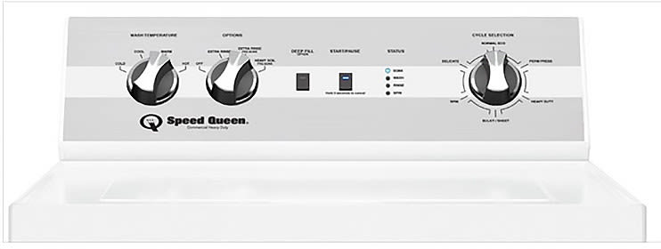 Speed Queen Tc5000wn 26 Inch Top Load Washer With 6 Preset
