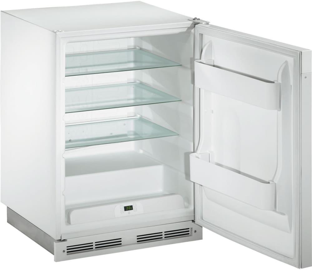 u line series 1175r white shown with door open