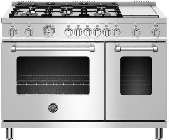 Bertazzoni Bermas48v1 4 Piece Kitchen Appliances Package
