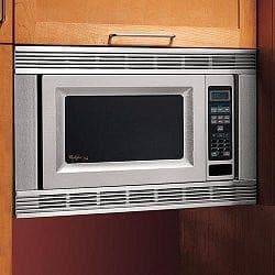 Whirlpool MK1170XPQ 30 Inch Countertop Microwave Oven Trim Kit: White