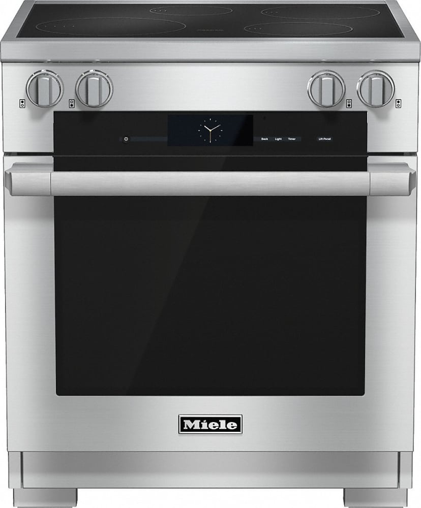 Induction Heating Oven ~ Miele hr i inch pro style induction range with