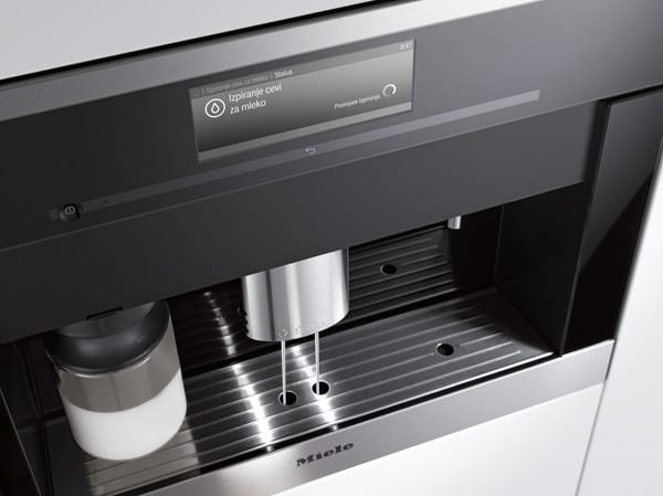 miele cva6405 24 inch whole bean built in plumbed coffee system with directsensor controls dual. Black Bedroom Furniture Sets. Home Design Ideas