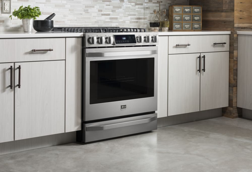Kitchens With Slide In Gas Ranges Mycoffeepot Org