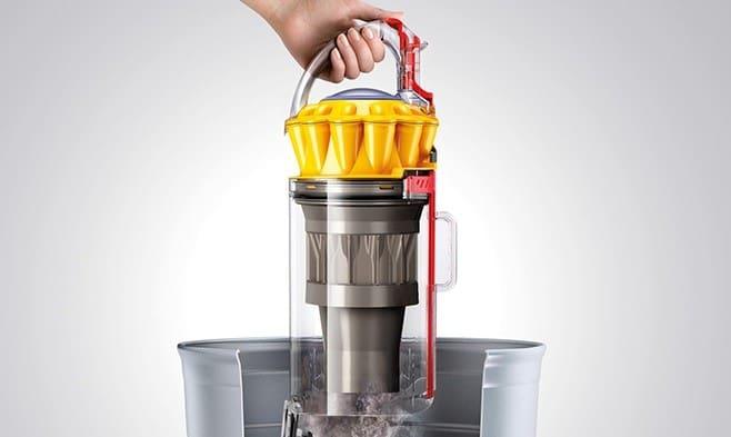dyson ball series multifloor upright vacuum cleaner hygenic bin