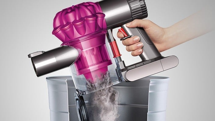 Dyson 21069101 V6 Motorhead Cordless Stick Vacuum Cleaner with 100AW Suction Power, Direct-Drive ...