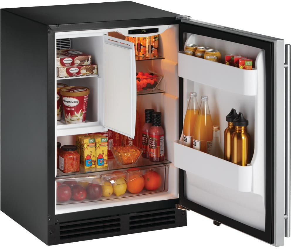U Line 2175rfs01 24 Inch Built In Compact Refrigerator
