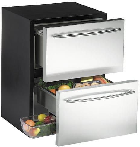 U Line 2175dwrrs 24 Inch Refrigerator Drawer With 5 5 Cu