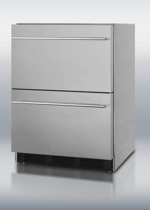 Summit Sp6ds2dos 24 Inch Outdoor Double Drawer