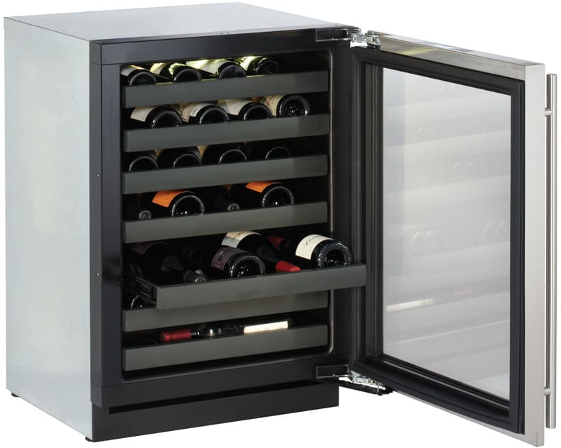 U Line U3024wcs01 24 Inch Built In Wine Storage With 43