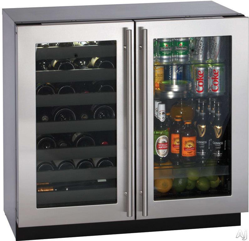 U Line U3036bvwcol00 36 Inch Built In Beverage Center With