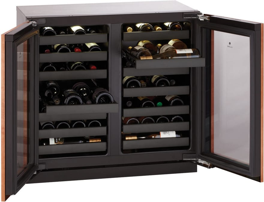 U Line U3036wcwcol00 36 Inch Built In Wine Storage With 62