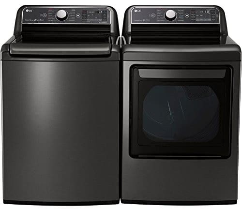 Lg Lgwadrgk91 Side By Side Washer Amp Dryer Set With Top